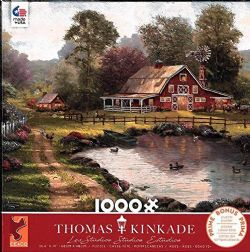 THOMAS KINKADE -  RETRAITE DE LA GRANGE ROUGE (1000 PIÈCES)