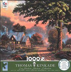 THOMAS KINKADE -  TEMPS PLUS SIMPLES II (1000 PIÈCES)