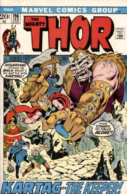 THOR -  THOR (1972) - VERY FINE - 8.0 196