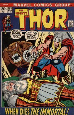 THOR -  THOR (1972) - VERY FINE - 8.0 198