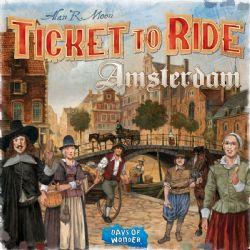 TICKET TO RIDE -  AMSTERDAM (ANGLAIS)
