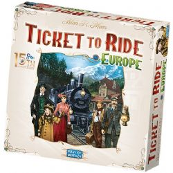 TICKET TO RIDE -  EUROPE - 15TH ANNIVERSARY EDITION (ANGLAIS)