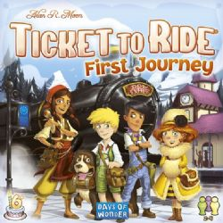 TICKET TO RIDE -  FIRST JOURNEY - EUROPE (ANGLAIS)