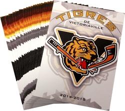 TIGRES DE VICTORIAVILLE -  (23 CARTES) -  2014-15