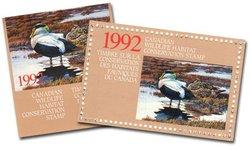 TIMBRE FAUNIQUE -  TIMBRE FAUNIQUE DU CANADA 1992 08