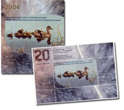 TIMBRE FAUNIQUE -  TIMBRE FAUNIQUE DU CANADA 2004 20