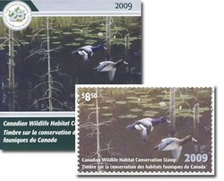 TIMBRE FAUNIQUE -  TIMBRE FAUNIQUE DU CANADA 2009 25