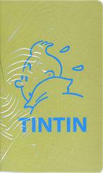 TINTIN -  CAHIER DE NOTES VERT (21X13CM)