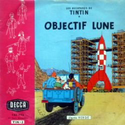 TINTIN -  DISQUE 33 TOURS