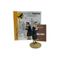 TINTIN -  FIGURINE DE IRMA + LIVRET + PASSEPORT (12CM) 72