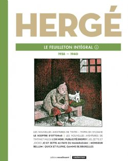 TINTIN -  HERGÉ, LE FEUILLETON INTÉGRAL 1938 - 1940 08