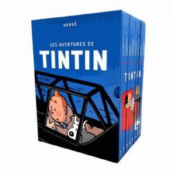TINTIN -  LES AVENTURES DE TINTIN INTÉGRALE (COFFRET EN 8 VOLUMES - LA COLLECTION COMPLÈTE) (ÉDITION 2019)