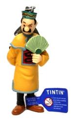 TINTIN -  PORTE-CLÉ DUPONT AVEC ÉVENTAIL OUVERT