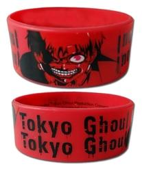 TOKYO GHOUL -  BRACELET EN CAOUTCHOUC - ONE EYED GHOUL