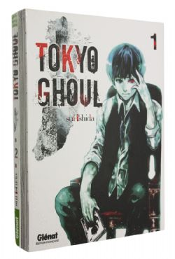 TOKYO GHOUL -  MANGAS USAGÉS TOME 01 ET 02