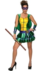 TORTUES NINJA -  COSTUME DE DONATELLO (ADULTE)