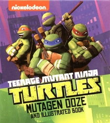 TORTUES NINJA -  VASE MUTAGÈNE & LIVRET ILLUSTRÉ -  MINI ENSEMBLE