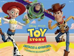 TOY STORY : OBSTACLES & ADVENTURES (ANGLAIS)