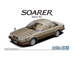 TOYOTA -  MZ11 SOARER 2800GT-EXTRA '81 - 2 EN UN - 1/24