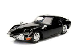 TOYOTA -  TOYOTA 2000 GT 1967 1/24 NOIR - SANS BOÎTE