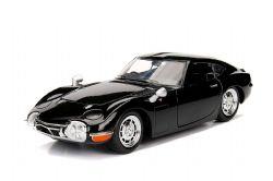 TOYOTA -  TOYOTA 2000 GT 1967 1/24 NOIR
