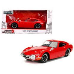 TOYOTA -  TOYOTA 2000 GT 1967 1/24 ROUGE