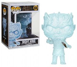TRÔNE DE FER, LE -  FIGURINE POP! EN VINYLE DU NIGHT KING (POIGNARDÉ) (10 CM) 84