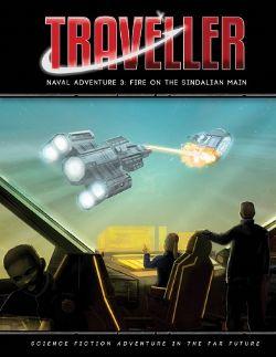 TRAVELLER -  FIRE ON THE SINDALIAN MAIN (ANGLAIS) -  NAVAL ADVENTURE 3