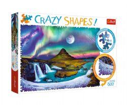 TREFL -  AURORE EN ISLANDE (600 PIÈCES) -  CRAZY SHAPES!
