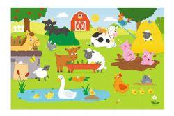 TREFL BABY -  ANIMAUX DE FERMES (15 PIÈCES)