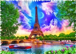 TREFL -  CIEL DE PARIS (600 PIÈCES) -  CRAZY SHAPES!