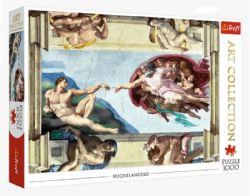 TREFL -  LA CRÉATION D'ADAM, MICHELANGELO (1000 PIÈCES) -  ART COLLECTION