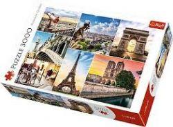 TREFL -  MAGIE DE PARIS - COLLAGE (3000 PIÈCES)