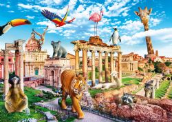 TREFL -  ROME SAUVAGE (1000 PIÈCES) -  FUNNY CITIES
