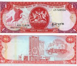 TRINITÉ-ET-TOBAGO -  1 DOLLAR 1985 (UNC)