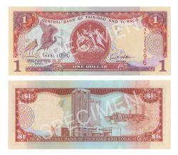 TRINITÉ-ET-TOBAGO -  1 DOLLAR 2002 (UNC)