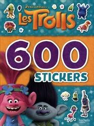 TROLLS, LES -  6OO STICKERS