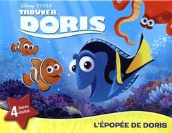 TROUVER NEMO -  L'ÉPOPÉE DE DORIS (4 LIVRES INCLUS) -  TROUVER DORIS
