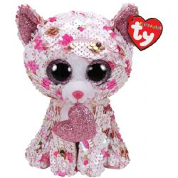 TY FLIPPABLES -  CUPID LE CHAT (25 CM)