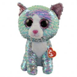 TY FLIPPABLES -  WHIMSY LE CHAT (18 CM)
