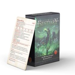 ULTIMATE BESTIARY -  REFERENCE DECK 1 (ANGLAIS) -  THE DREADED ACCURSED