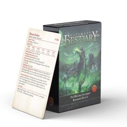 ULTIMATE BESTIARY -  REFERENCE DECK 2 (ANGLAIS) -  THE DREADED ACCURSED