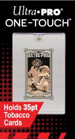 ULTRA PRO -  ONE-TOUCH FERMETURE MAGNÉTIQUE FORMAT TOBACCO (JUSQU'À 35PT)