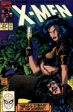 UNCANNY X-MEN -  UNCANNY X-MEN (1990) - VERY FINE - 8.0 267