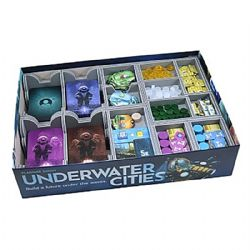 UNDERWATER CITIES -  INSERTION   -  FOLDED SPACE