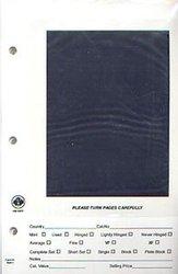 UNI-SAFE -  PAGES DE RANGEMENT POUR TIMBRES AVEC FENÊTRE NOIRE (100)