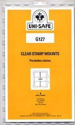 UNI-SAFE -  POCHETTES À FOND CLAIR G127 (PAQUET DE 5)