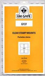 UNI-SAFE -  POCHETTES À FOND CLAIR G137 (PAQUET DE 7)