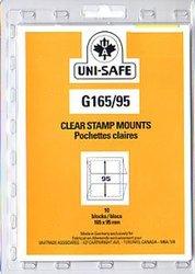 UNI-SAFE -  POCHETTES À FOND CLAIR G165/95 (PAQUET DE 10)