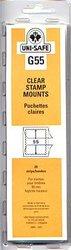 UNI-SAFE -  POCHETTES À FOND CLAIR G55 (PAQUET DE 20)
